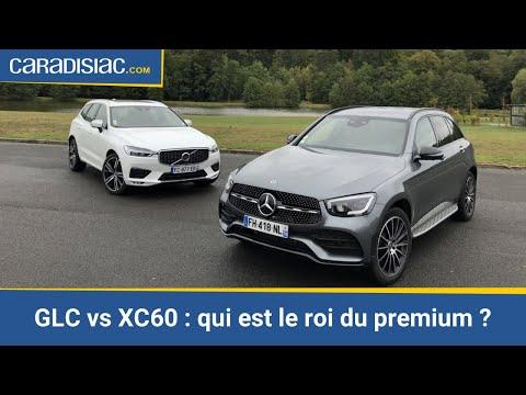 Comparatif - Mercedes GLC vs Volvo XC60 : les SUV leaders du premium