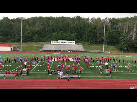 Peters Township Mighty Indians Marching Band 2017 Preview Show