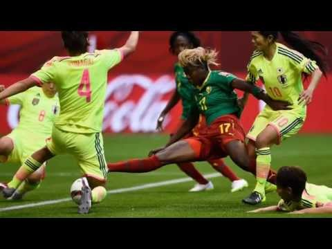 Japan Vs Cameroon highlight (Fifa Women's WorldCup Canada 2015)