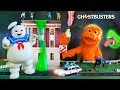 Ghostbusters 3 get Green Slimed! 👻👻 Fuzzy Ghostbusters 2 funny and messy! Real Ghostbusters