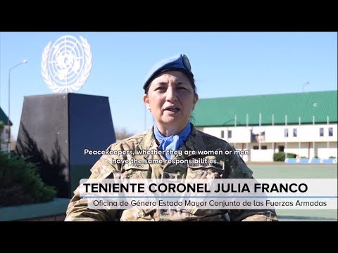 WE NEED MORE WOMEN TO JOIN UN PEACEKEEPING MISSION