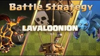 How To Use Lavaloonion Attack Stradegy *BEST TH 9 ATTACK IN CLASH OF CLANS!!