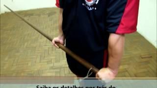 Aulas de Kung Fu - O Manejo do Bastão Longo do Wing Chun - Niterói