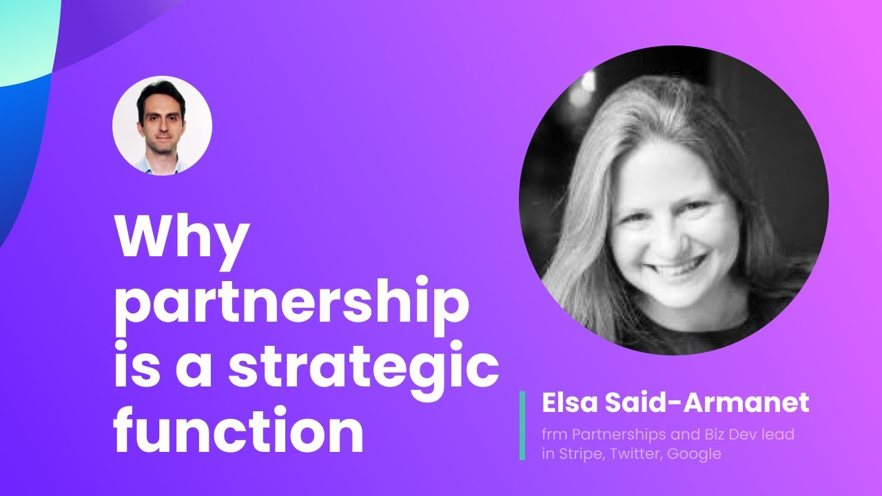 Why partnership is a strategic function