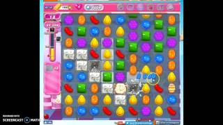 Candy Crush Level 1324 help w/audio tips, hints, tricks