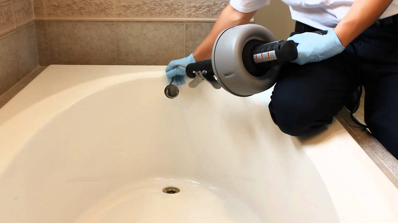 DIY: How to Unclog the bathroom tub in your home. - YouTube