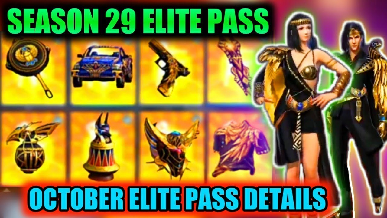 Free Fire season 29 elite pass full review | free fire october elite pass 2020 | Queen live Gaming