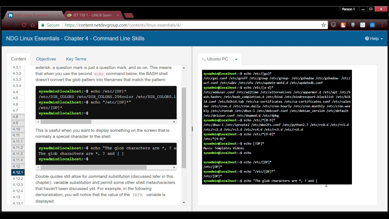 Ndg Linux Essentials Chapter 4 Command Line Skills Google Chrome 2 7