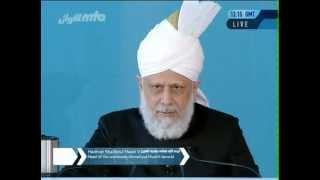 2012-05-25 Die Aufrichtigkeit und Gehorsamkeit der Gefährten des Verheißenen Messias(as)