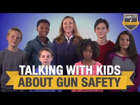 Parents Talking with Their Kids About Gun Safety - NSSF & Project ChildSafe