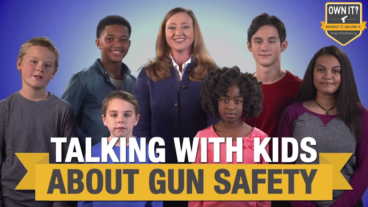 Parents Talking with Their Kids About Gun Safety - NSSF & Project ChildSafe - YouTube