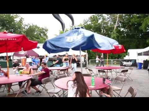 Watch Dinosaurs surprise Musikfest goers on Aug. 12, 2016