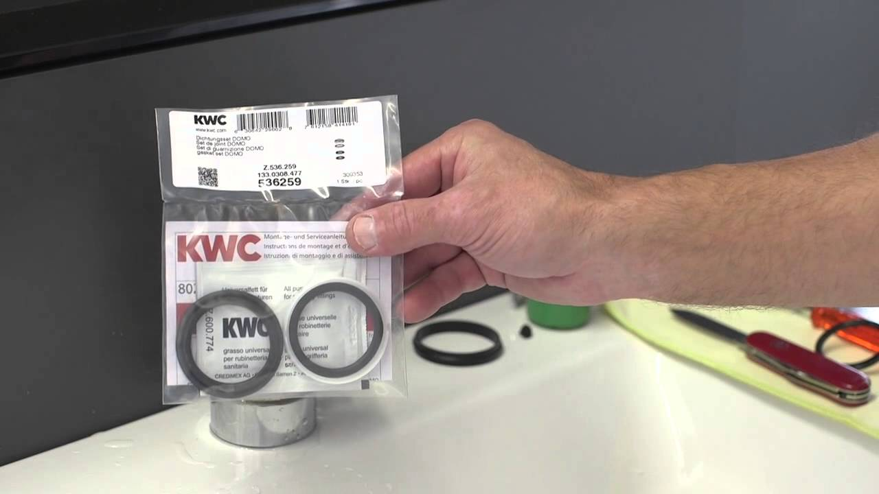 Kwc Domo Dichtungstausch Seal Replacement Youtube