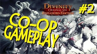 Grieving widow or heartless golddigger? - Divinity Original Sin Co-op Gameplay #2