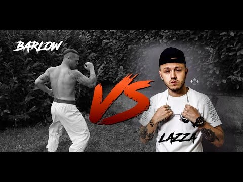 Lazza Vs Barlow FREESTYLE DISSING ! moderatore : KUMA