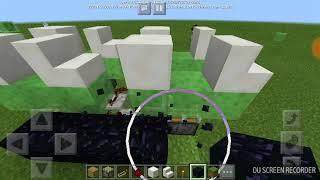 Cara membuat odong odong di minecraft pe