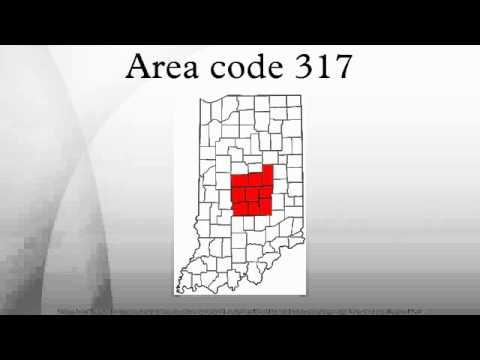 Area code 317