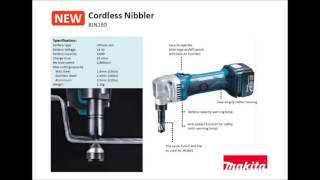 makita bjn161 cordless nibbler