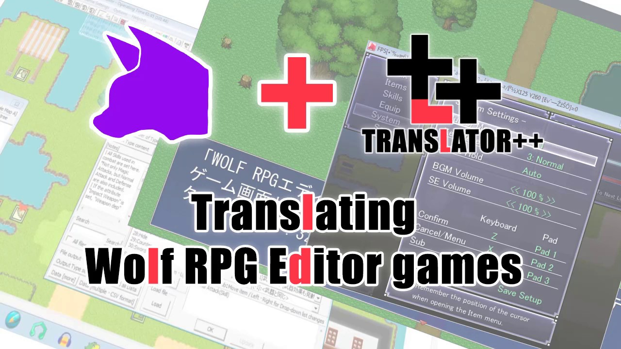 Translating Wolf RPG Editor game