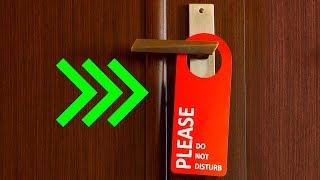 12 Astuces Peu Connues Pour Éviter de se Faire Voler Ses Affaires à l'Hôtel