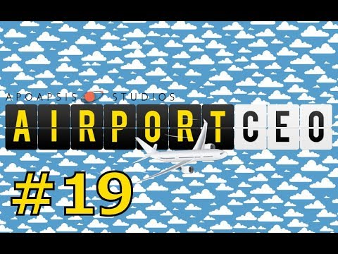 "Let's play Airport CEO (Prague Letnany) - part 19 ""Daily flights"""