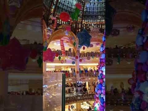 Galeries Lafayette 2017 Christmas Décors, Paris, France