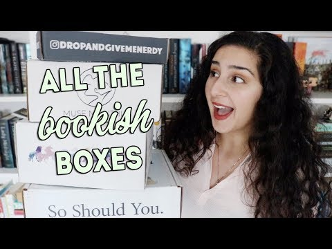HUGE BOOKISH UNBOXING!