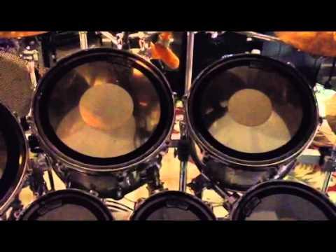 Blind Drummer And His Huge Drum Kit