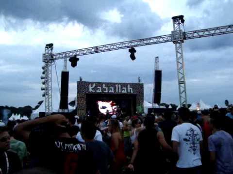 1200 MICS  Live Band @ Kaballah & Orbital 20/03/2010  Fazenda Maeda ITU - SP PART 2