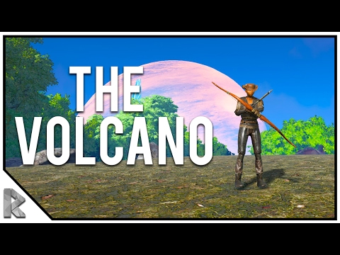 "The Journey Home! - Ark Survival Evolved ""The Volcano"" PVP #1"