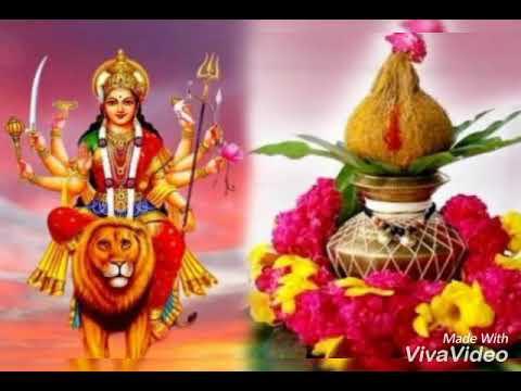 Durga pujan and kalash sthapana, kanya pujan ki puri vidhi! Sampurn Navratri pujan vidhi in hindi