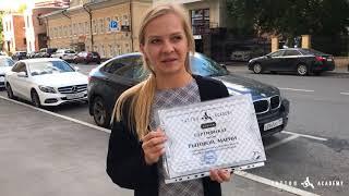 Выпускница тату школы Рытова Мария | Видео отзыв
