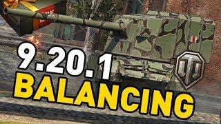 World of Tanks || 9.20.1 - Balancing Changes