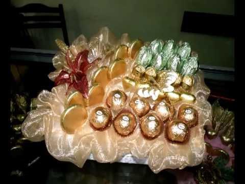 шоколадные композиции(chocolate bouquet).avi