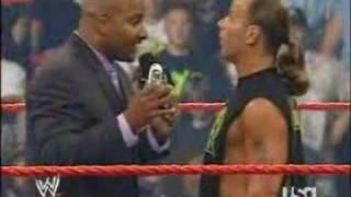 Shawn Michaels and Jonothan Coachman (funny)