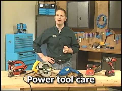 Do-It-Yourself : Power Tool Care