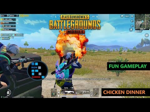 [Hindi] PUBG MOBILE | FUN GAME PLAY WITH NICE SQUAD & AMAZING END ZONE FIGHT