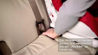 VERSAFIX - Einbau des Sitzes | ISOFIX und Top Tether