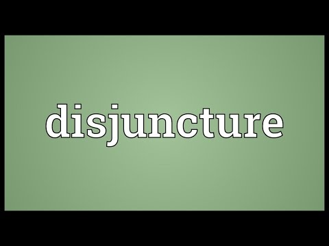 Header of disjuncture