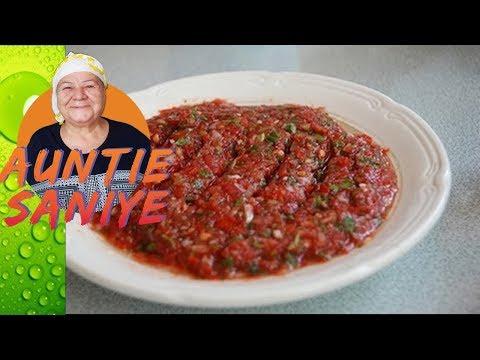 Spicy Dip Recipe | Turkish Acili Ezme
