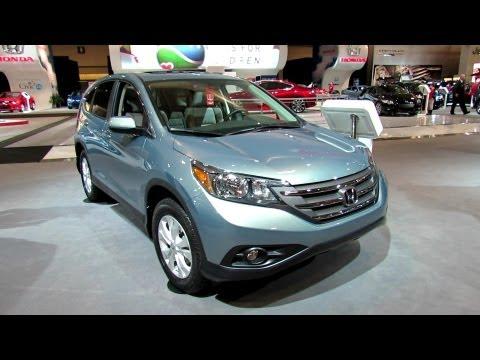 2012 Honda CR-V AWD Exterior and Interior at 2012 Toronto Auto Show