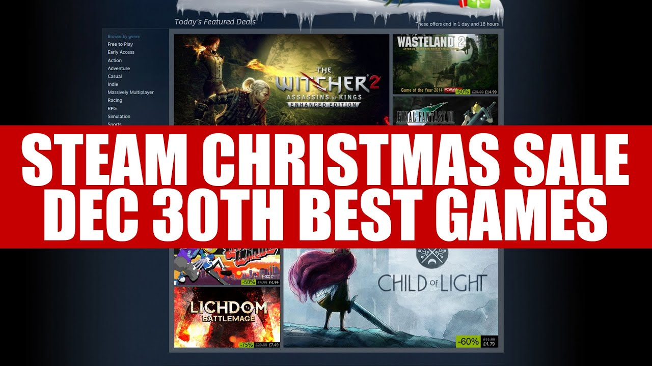 free christmas steam games
