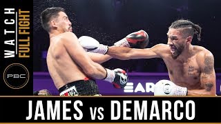 James vs DeMarco FULL FIGHT: July 13, 2019 - PBC on FS1