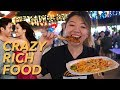 Singapore Street Food Tour - CRAZY RICH ASIANS Style!