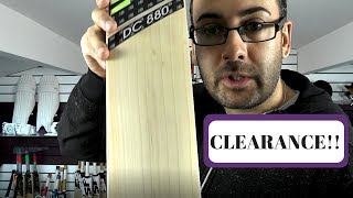 NEW BALANCE DC880 CLEARANCE CRICKET BAT REVIEW £130 0FF RRP