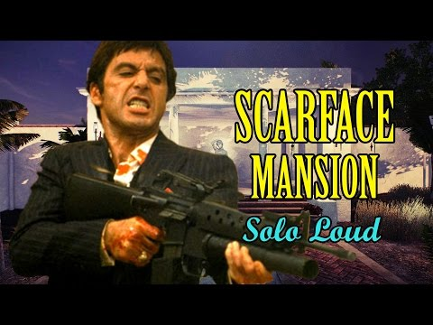 [Payday 2] Scarface Mansion - Solo Loud (One Down)