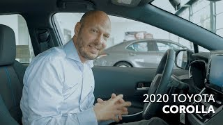 The all-new 2020 Toyota Corolla Walk Around & Model Review | Toyota of Irving