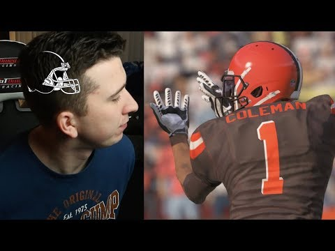 If I Lose I HAVE To Get The BROWNS Logo Shaved Into My HEAD! Madden 18 #2