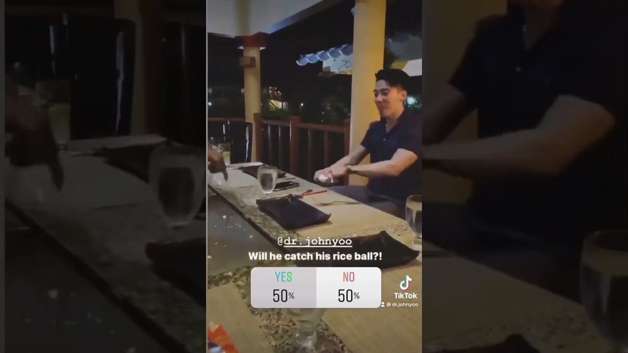 When everyone before you mouth-catches their rice ball [Hibachi in Jamaica]