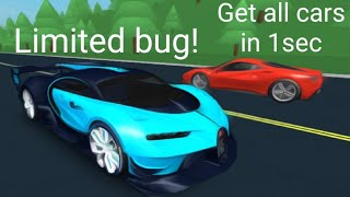roblox vehicle tycoon| get every car in the game fast!! LIMITED BUG 2019